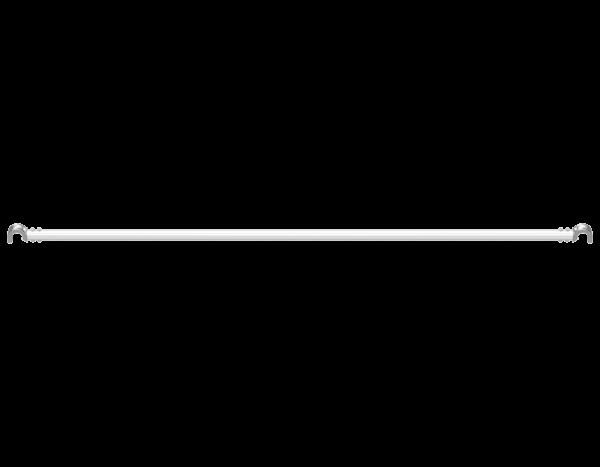 VARIO longitudinal ledger, aluminium