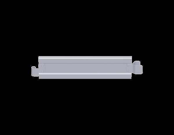 ALFIX Stirnbordbrett aus Stahl 0,73 x 0,15 m, vz