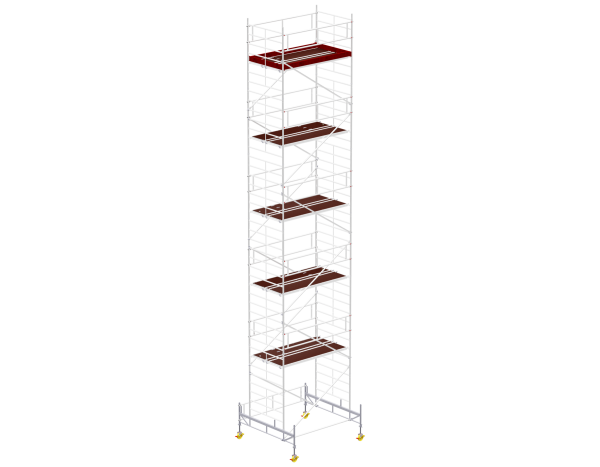 Mobile scaffold tower type 6012 basic unit