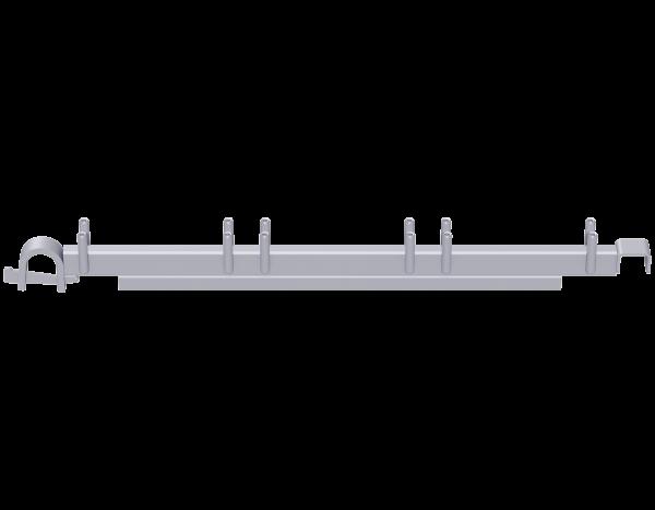 ALFIX MODUL METRIC board bearer, steel, UNIFIX fixture, galvanised