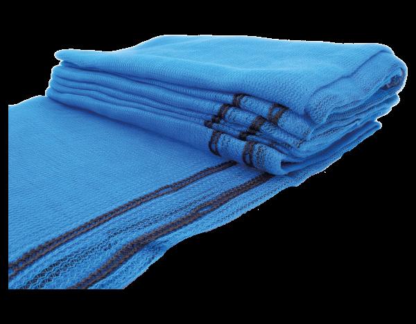 Scaffolding net, blue