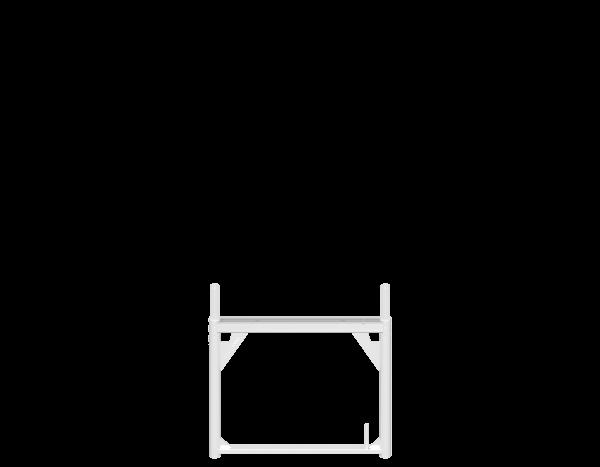 ALFIX Stellrahmen aus Aluminium 0,73m