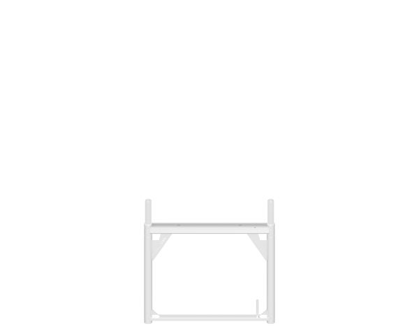 ALFIX assembly frame 0.73 m, aluminium