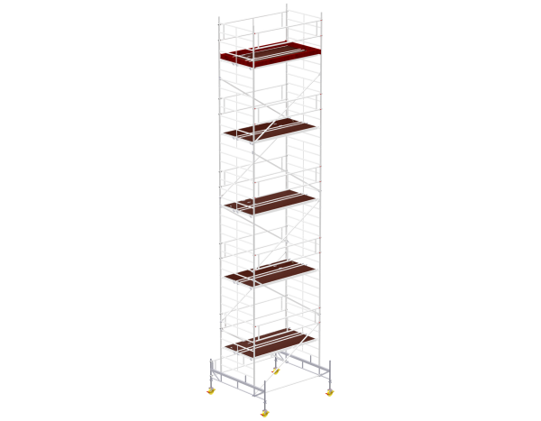Mobile scaffold tower type 6011 basic unit
