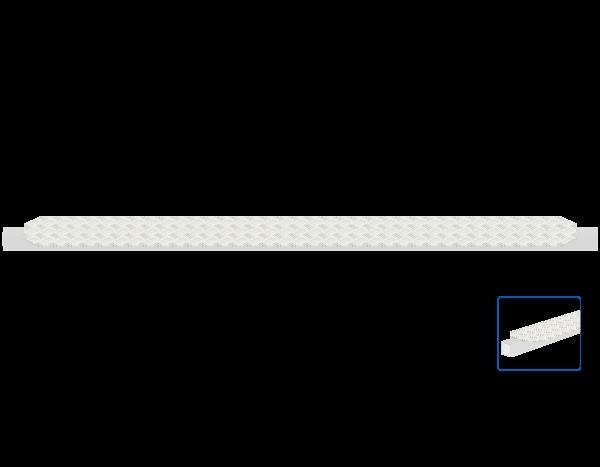 ALFIX MODUL METRIC gap cover 0.19 m for stairway tower, aluminium treadplate