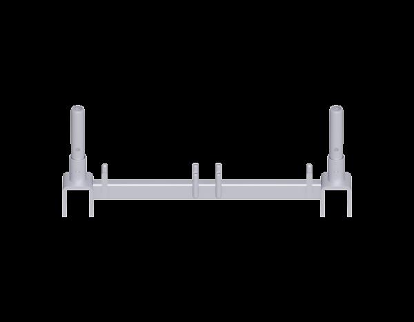 ALFIX MODUL METRIC lattice girder cross brace, steel, galvanised