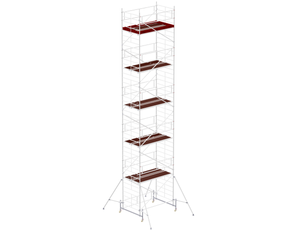 Mobile scaffold tower type 6112 basic unit