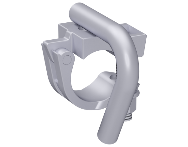 Halfcoupler with hook