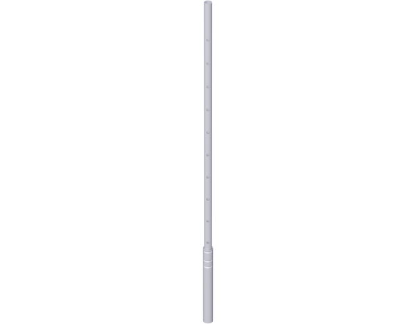 Untersetzrohr aus Stahl 1,80 m, vz
