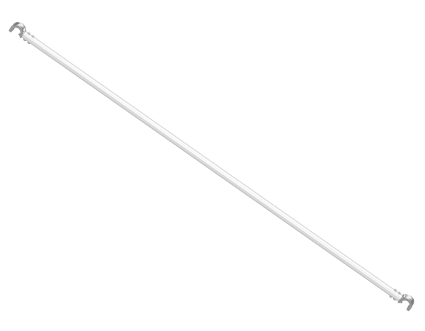 VARIO Diagonalriegel aus Aluminium 2,50 x 0,75 m