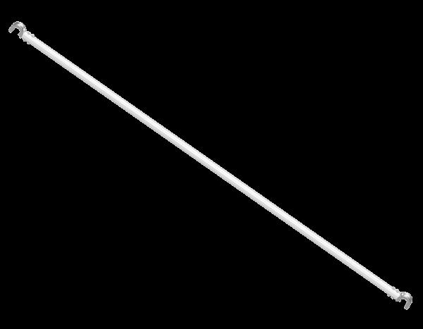 UNIFIX 2000 Diagonal ledger, aluminium, L=2.61 m for bay 2.50 m