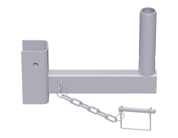UNIFIX internal corner bracket 0.25 m, steel, galvanised