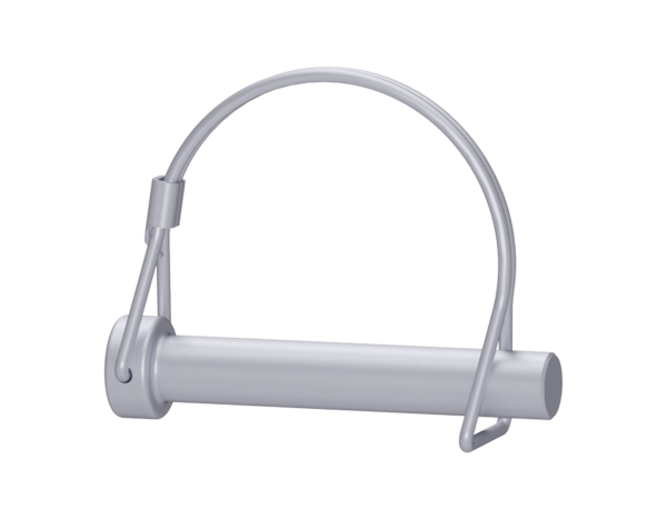 Rohrklappstecker aus Stahl 12 x 70 mm, vz