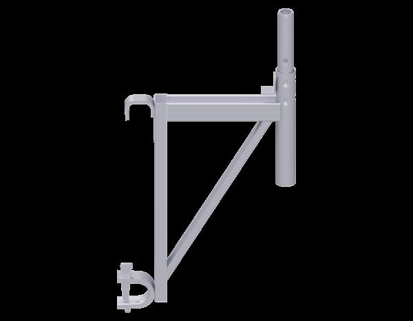 ALFIX MODUL MULTI Konsole mit Rohrriegel-Einhängung aus Stahl, vz
