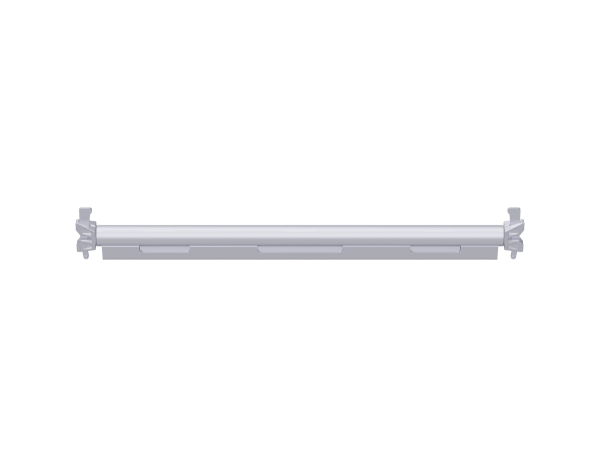 ALFIX MODUL METRIC tube ledger, steel, reinforced, galvanised