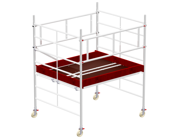 Mobile scaffold tower type 6202 basic unit