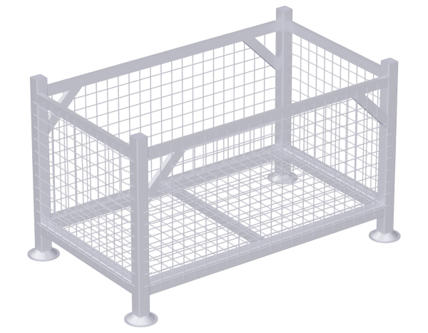 Lattice box pallet (Finland)