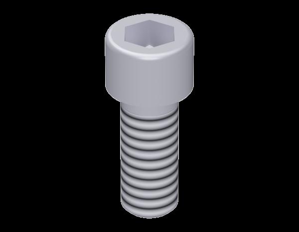 Cylinder head screw M 12 x 30, galvanised, with hexagon socket