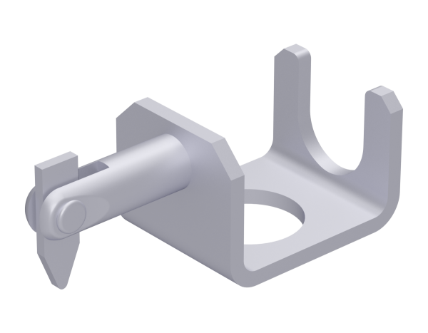 UNIFIX lower diagonal brace fixture, steel, galvanised