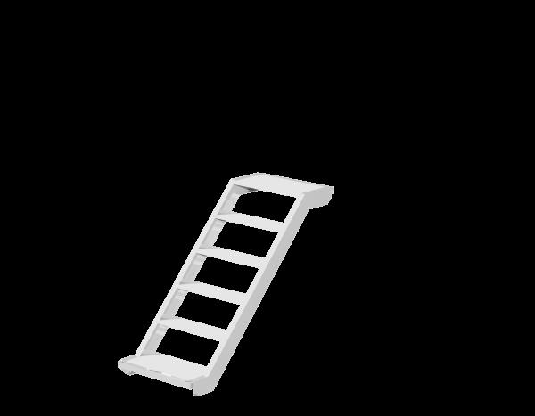 UNIFIX stairway, aluminium