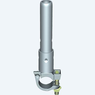 ALFIX MODUL METRIC tube connector for lattice girder, steel, galvanised