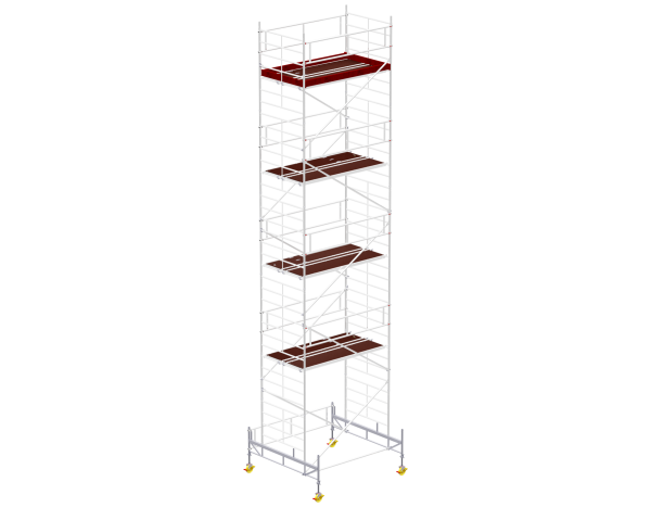 Mobile scaffold tower type 6010 basic unit