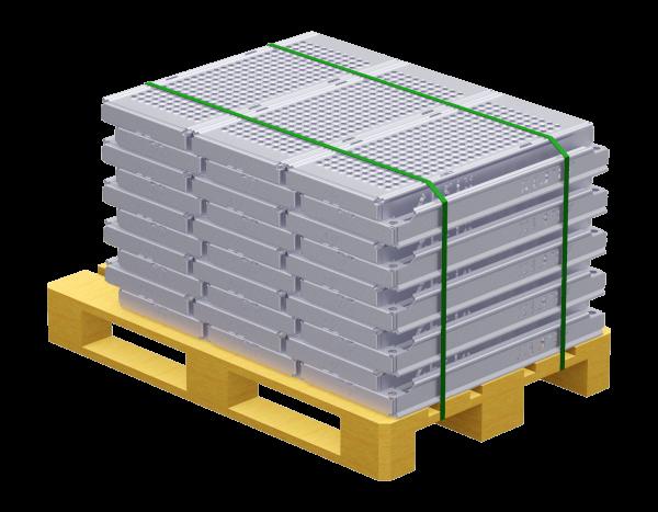 Paket UNIFIX Stahlboden 0,74 x 0,32 m, VPE 30 Stk