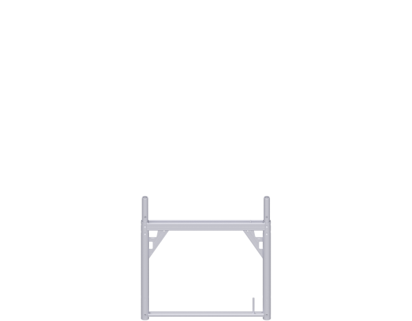 ALFIX assembly frame 0.73 m, steel