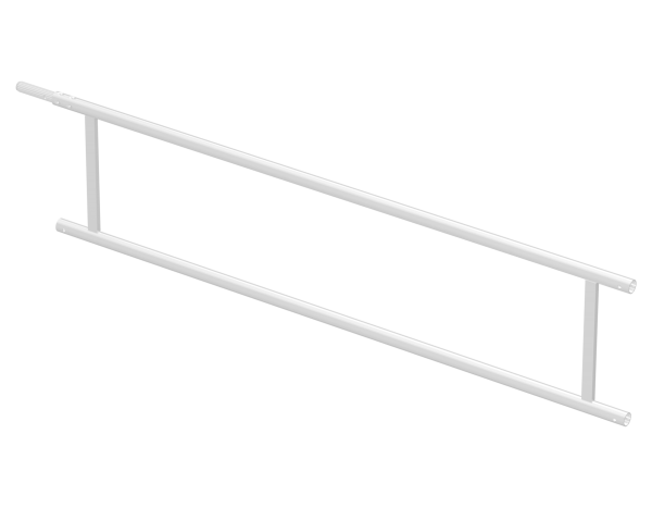 Geländerrahmen aus Aluminium 2,50 m