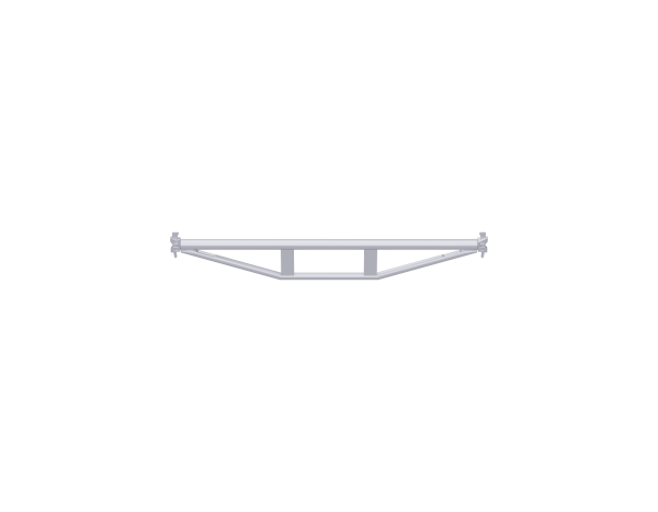 ALFIX MODUL METRIC Doppel-Rohrriegel aus Stahl, vz