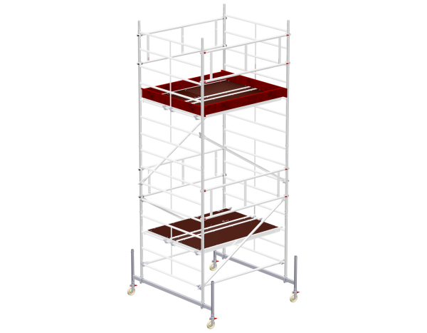 Mobile scaffold tower type 6204 basic unit