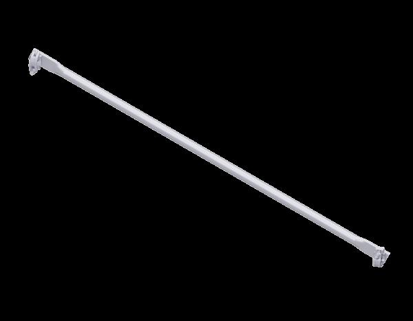 Querdiagonale aus Stahl, vz