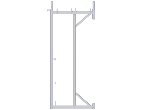 UNIFIX cantilever frame 2.00 m, steel, lightweight, galvanised