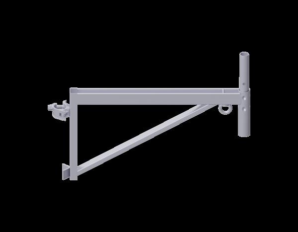 Konsole für Baurolle aus Stahl 0,73 m, vz