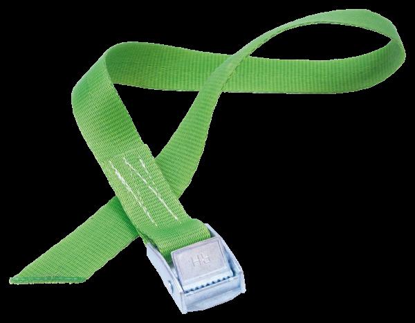 Quick strap fastener 0.55 m, green