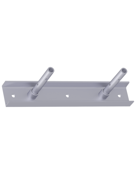 Wall connector plate for lattice girder 0.70 m, steel, galvanised