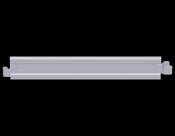 End toeboard, steel, 1.09 x 0.15 m