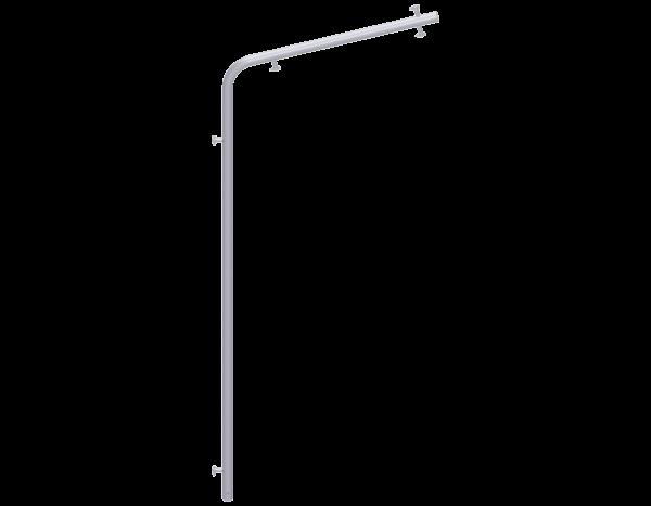 UNIFIX Wetterschutzstütze aus Stahl 2,00 m, vz