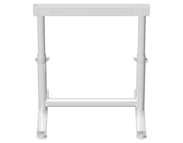 Renovierungsbock aus Aluminium 0,44 - 0,67 m x 0,65 m