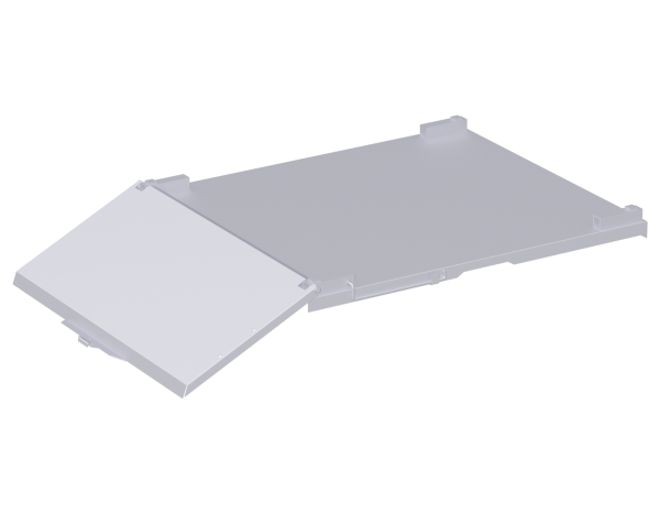 Hatch for multipurpose container 1.66 x 1.00 m, steel, galvanised