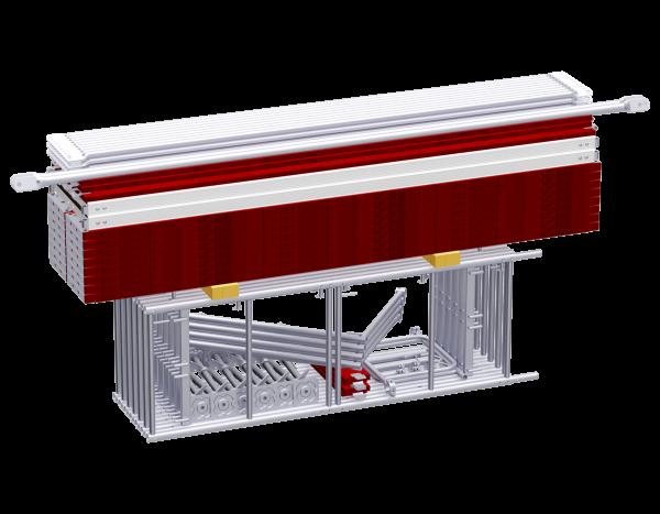UNIFIX Fassadengerüst aus Stahl/Holz 3,00 m, ca. 100 m²