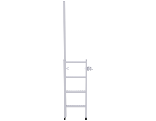 DS storey ladder 1.00 m, steel, galvanised