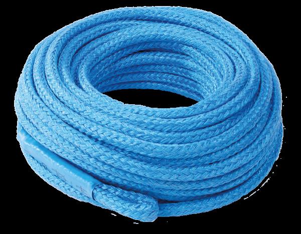Fibre rope, plaited