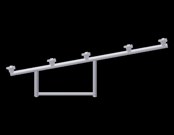 ALFIX weather protection add-on unit 2.00 x 0.73 m, steel, galvanised