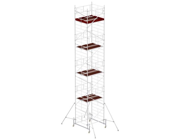 Mobile scaffold tower type 6210 basic unit