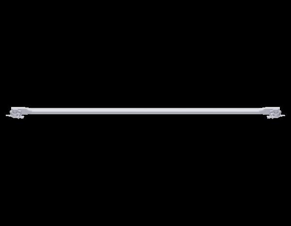 ALFIX Horizontalstrebe aus Stahl mit drehbaren 2 Keilkupplungen, vz