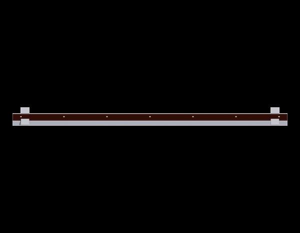 ALFIX Spaltabdeckung aus Stahl (SDP) 0,10 m