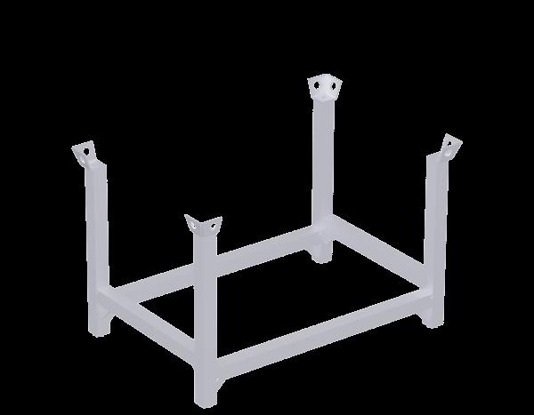 Modular pallet 53, steel, galvanised