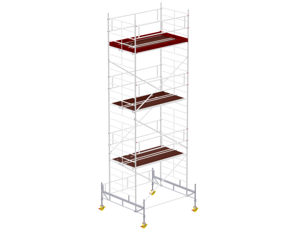 Mobile scaffold tower type 6007 basic unit