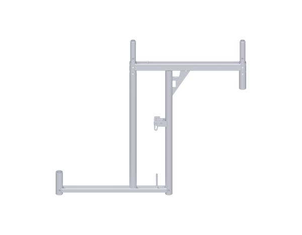 ALFIX DS bracket frame, steel, galvanised